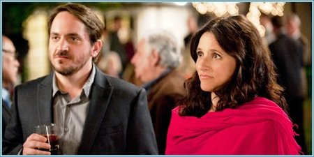 Ben Falcone y Julia Louis-Dreyfus