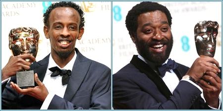 Barkhad Adbi y Chiwetel Ejiofor