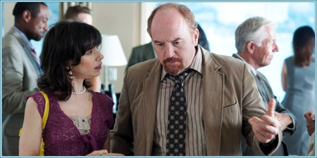 Sally Hawkins y Louis C.K.