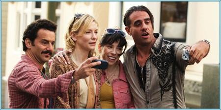 Max Casella, Cate Blanchett, Sally Hawkins y Bobby Cannavale