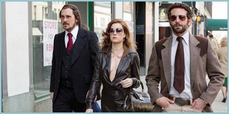 Christian Bale, Amy Adams y Bradley Cooper