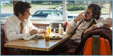 Jeremy Renner y Christian Bale