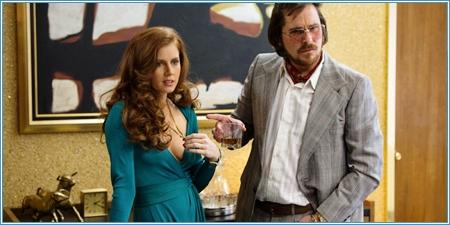 Amy Adams y Christian Bale