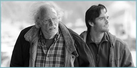 Bruce Dern y Will Forte