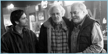 Will Forte, Bruce Dern y Stacy Keach