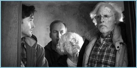Will Forte, Bob Odenkirk, June Squibb y Bruce Dern
