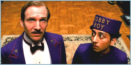 Ralph Fiennes y Tony Revolori