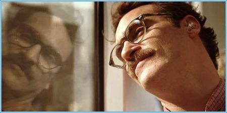 Joaquin Phoenix es Theodore Twombly
