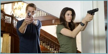 Gabriel Vaughn y Riley Neal