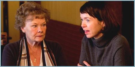 Judi Dench y Anna Maxwell Martin