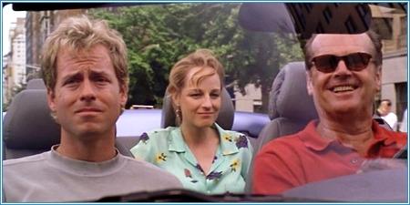 Greg Kinnear, Helen Hunt y Jack Nicholson