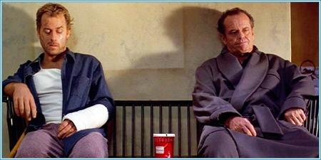 Greg Kinnear y Jack Nicholson