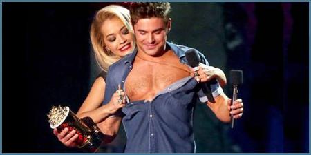 Rita Ora y Zac Efron