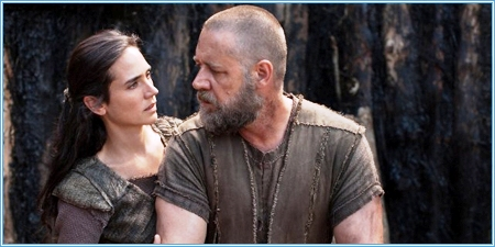 Jennifer Connelly y Russell Crowe