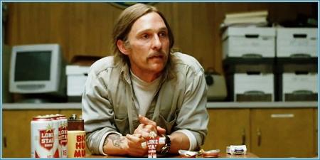 "Matthew McConaughey es Rustin ""Rust"" Cohle"