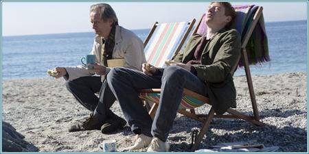Bill Nighy y Domhnall Gleeson