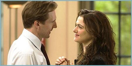 Ralph Fiennes y Rachel Weisz