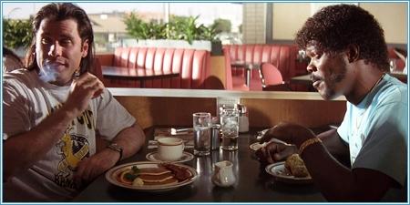 John Travolta y Samuel L. Jackson