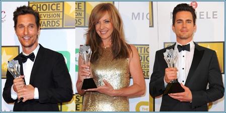 Matthew McConaughey, Allison Janney y Matt Bomer