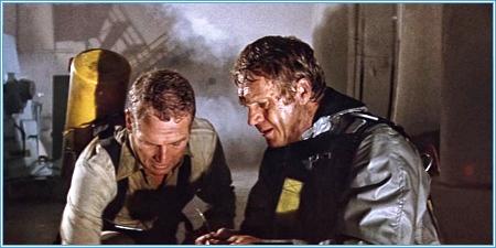Paul Newman y Steve McQueen