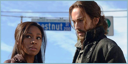 Nicole Beharie y Tom Mison