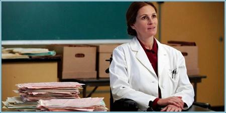 Julia Roberts es la doctora Emma Brookner