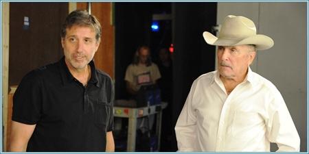 Emilio Aragón y Robert Duvall