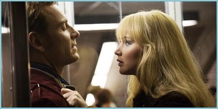 Michael Fassbender y Jennifer Lawrence son Erik y Raven