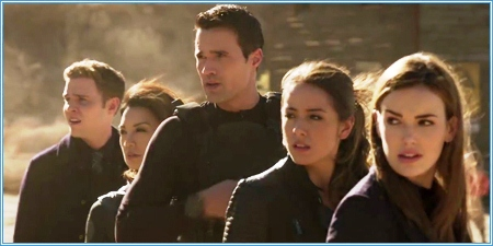 Fitz, May, Ward, Skye y Simmons