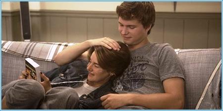 Shailene Woodley y Ansel Elgort son Hazel y Gus