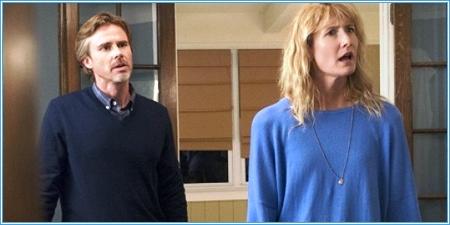 Sam Tammell y Laura Dern son los padres de Hazel
