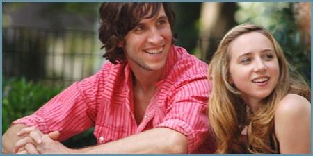 Pablo Schreiber y Zoe Kazan