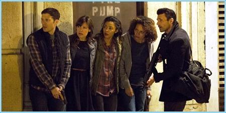 Shane, Liz, Cali, Eva y Leo