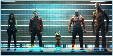 """Gamora, Quill, Rocket, Drax y Groot son los """"Guardianes de la galaxia"""""""