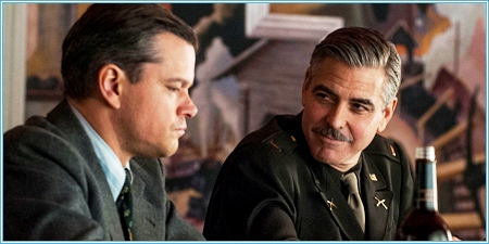 Matt Damon y George Clooney