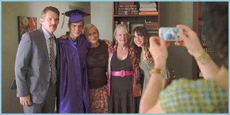 Mason y su familia