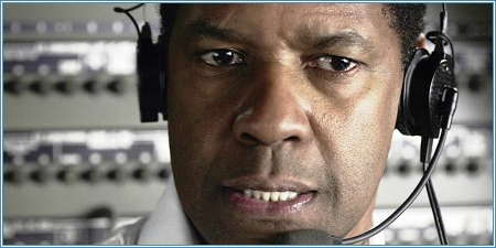 Denzel Washington es el capitán Whip Whitaker