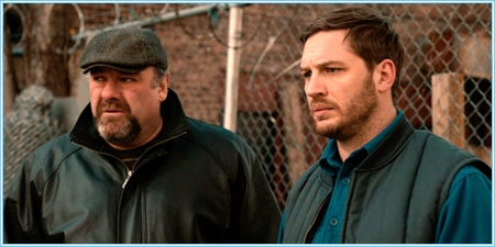 James Gandolfini y Tom Hardy