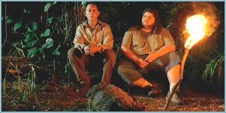 Michael Emerson y Jorge García (Ben y Hurley)