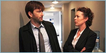 David Tennant y Olivia Colman son Alec Hardy y Ellie Miller
