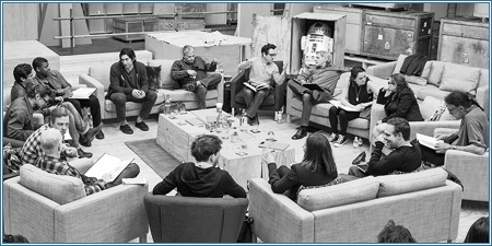 "Lectura de guion de ""Star wars, episodio VII"""