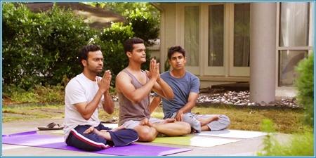 Pitobash Tripathy, Madhur Mittal y Suraj Sharma