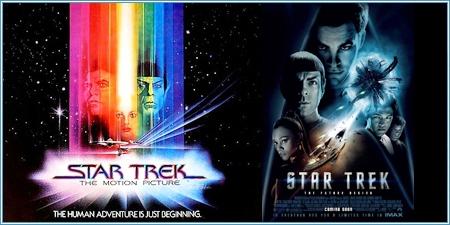 """""""Star trek"""" en 1979 y 2009"""