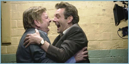 Timothy Spall y Michael Sheen
