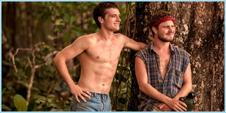 Josh Hutcherson y Brady Corbet son Nick y Dylan