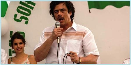 Benicio del Toro es Pablo Escobar