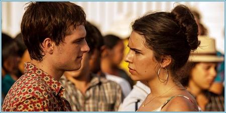 Josh Hutcherson y Claudia Traisac
