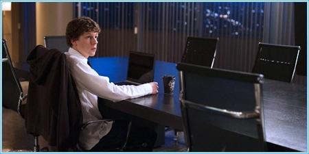 Jesse Eisenberg es Mark Zuckerberg