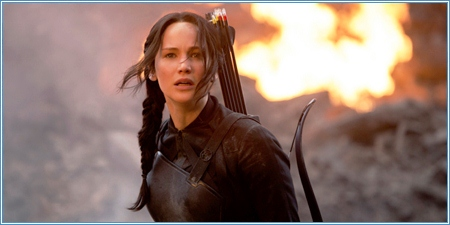 Jennifer Lawrence es Katniss Everdeen