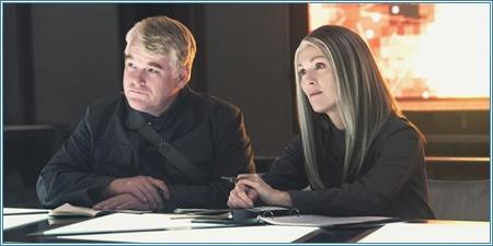 Philip Seymour Hoffman y Julianne Moore